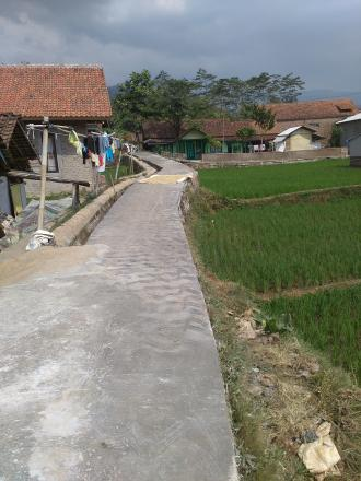 Pembangunan insprastruktur Desa